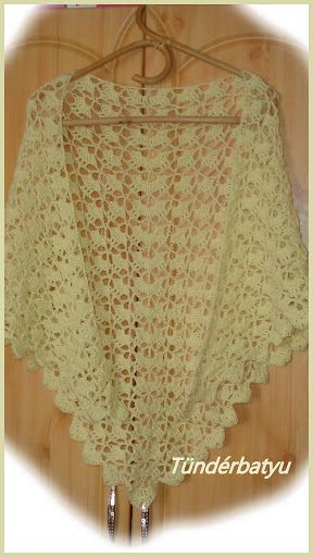 http://facebook.com/tunderbatyu #crocheted shawl