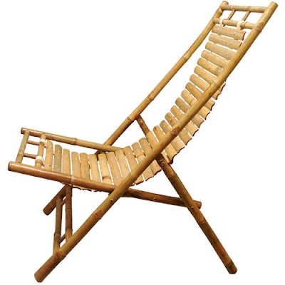 Vietnamese Bamboo Lounge Chair