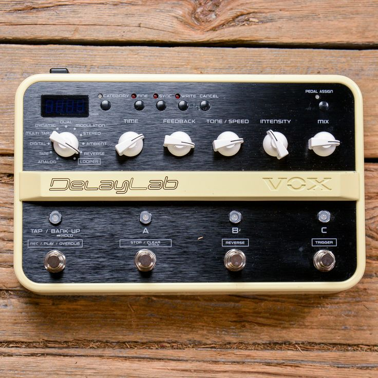 Vox Delay Lab USED