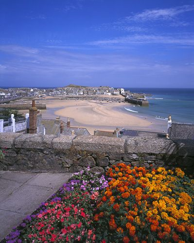 Beautiful St Ives in Cornwall, England