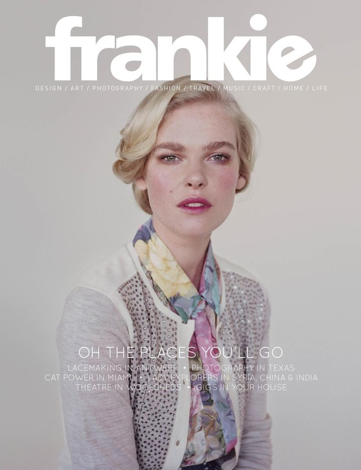 frankie 49: Graphic Design, Magazine Covers, Fashion, Magazines, Frankie Magazine