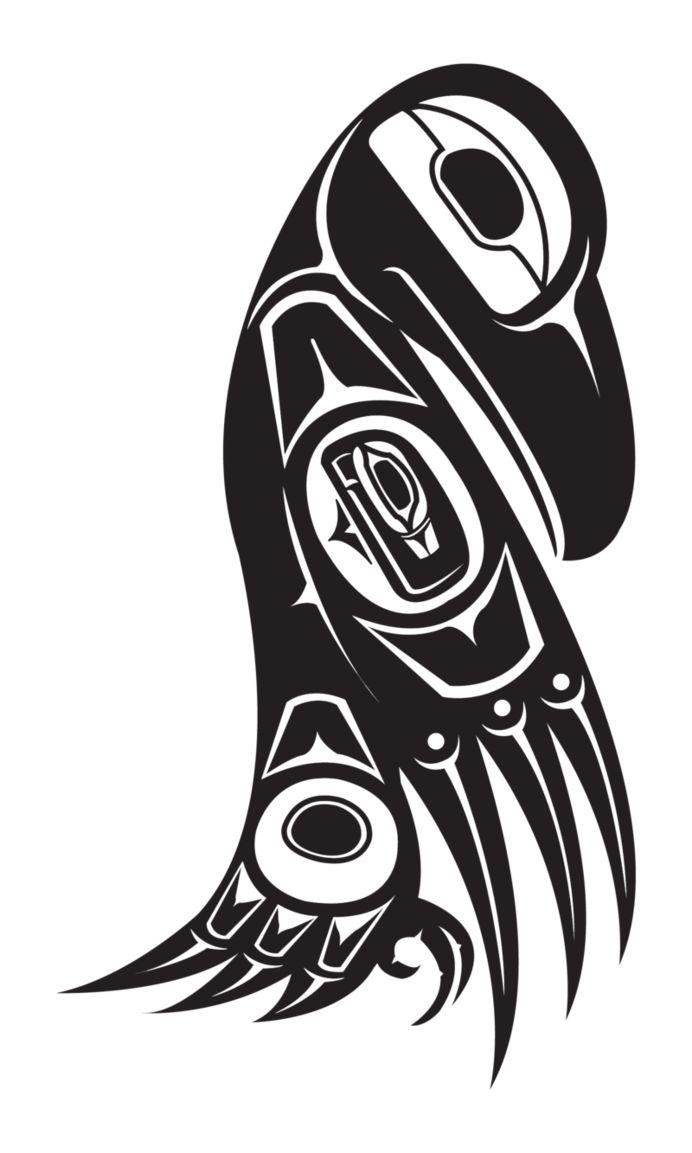 Northwest NativeAM Raven by theScallywag.deviantart.com on @DeviantArt
