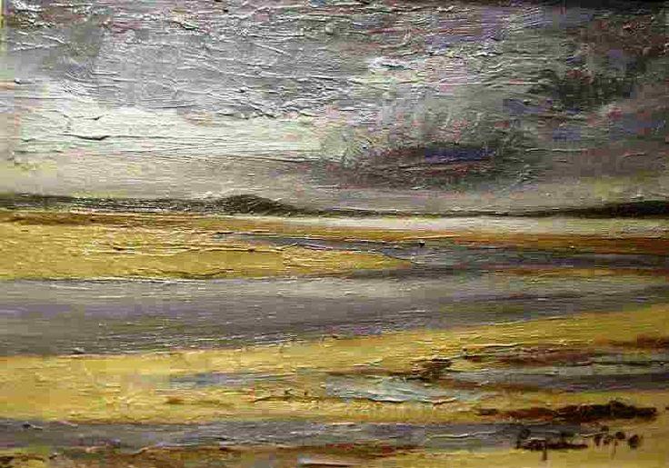 "Seascape, Gruinart Islay Oil on Canvas, Size 10x14"" http://www.zaidan.ca/Art_Gallery/Perpetua_Pope/Perpetua-Pope.htm"