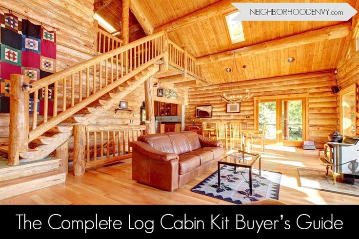 Inside discover what's included in log cabin kits and how much it costs to build a log home. See what most modular home builders won't tell you.