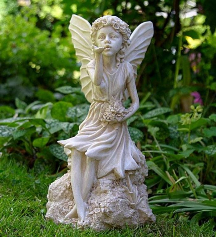 Gartendeko Figuren Fur Ihre Einmalige Gartengestaltung Gartenstatue Feengarten Gartenengel