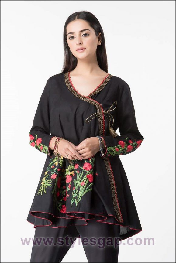 Latest Ladies Medium Shirts Designs Styles Collection 2019