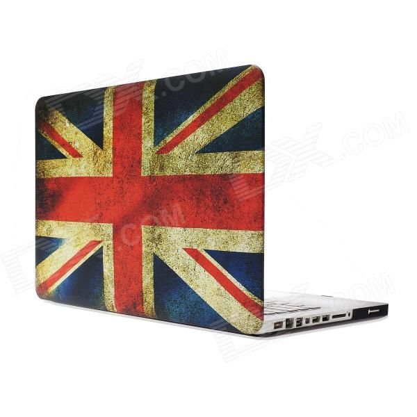 """RFH UK National Flag Pattern Protective Full Body Matte Case for MacBook Pro 13.3"""" - Multicolor Price: $17.92"""