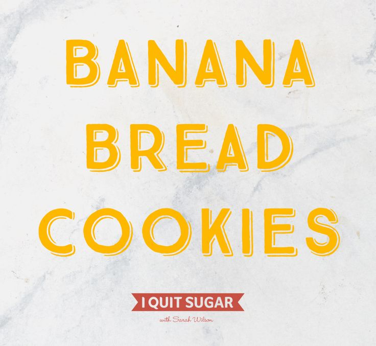 Banana + oats = banana bread biscuits! –I Quit Sugar