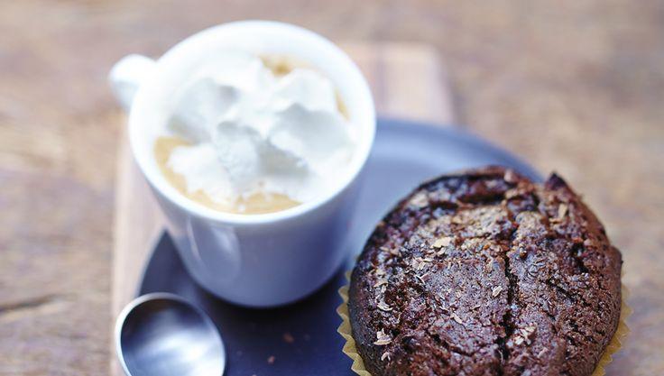 Espresso Livanto and Mocha Chocolate Muffins