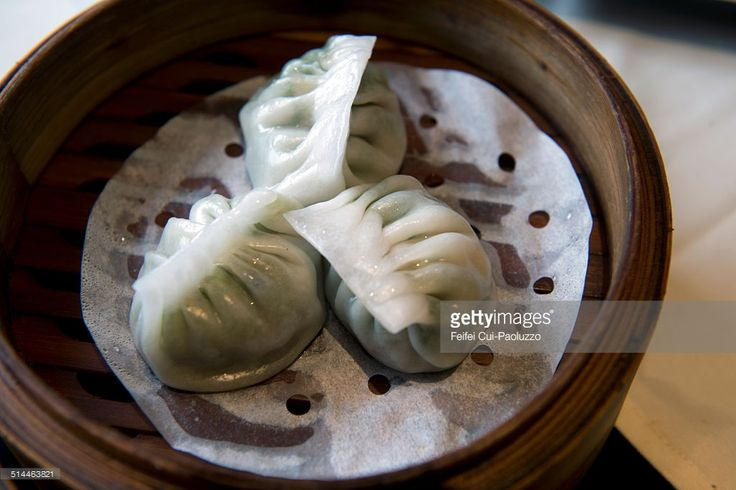 Dimsum, Chinese food in Zhengzhou, Henan province, China. small steamer baskets or on small plates.