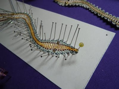 Stitches of Life II: Snake Bookmark