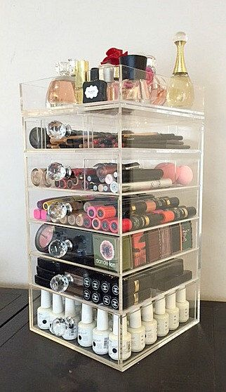 Acrylic Makeup Organizer Target Mesmerizing 433 Best Make Up Organization Images On Pinterest  Makeup Inspiration