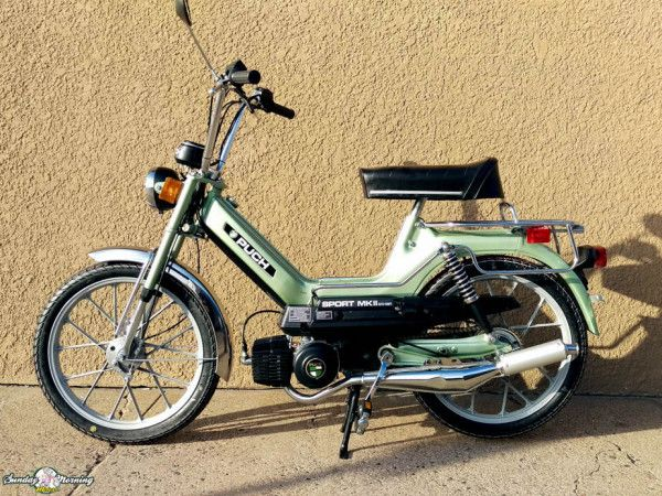 Puch Maxi Sport Mkii 8 Moped 50cc Moped Puch