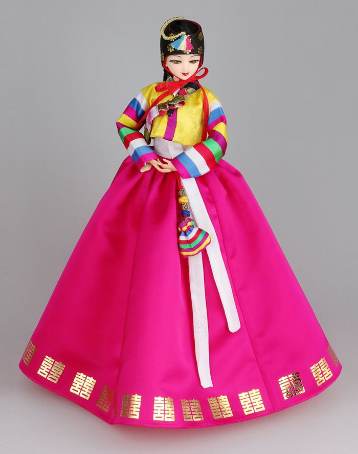 korean younji doll (outfit - Hanbok) 2010