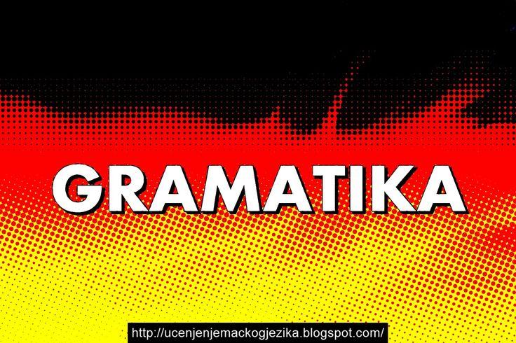 Učenje Njemačkog Jezika: Gramatika njemačkog jezika (Preuzmite PDF knjigu)