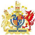 Königliches Wappen von Elizabeth I.