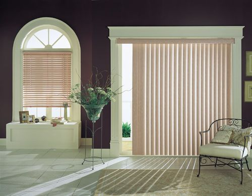 buy high quality vertical faux wood vertical blindsvinyl vertical blindshot blinds and shades from herecontact us for more - Vertical Blinds For Sliding Glass Doors
