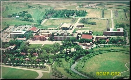 RCMP Training Academy ....Regina,Saskatchewan - all RCMP officers are trained here