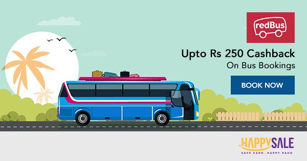 Book your bus tickets on #redBus, and get a great #cashback offer.  #travel #vacation #holiday #wanderlust