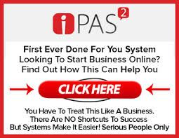 iPAS 2 is a totally new concept to MAKE MONEY ONLINE. Like a franchise business, all the set up has been done for you which means you can be profitable very quickly using this simple user friendly platform.  Once you turn it on it can start generating an income flow and make money online immediately!  https://www.youtube.com/watch?v=KkqUpCGD-f4  #Make_money_online