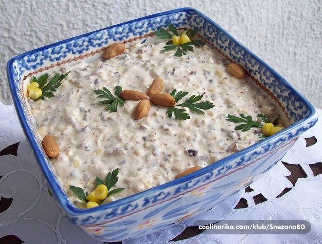 Fina salatica od kikirikija i kukuruza…