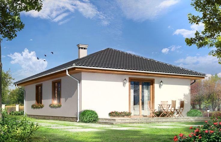 Projekt małego domu  - Kropka. Jak Ci się podoba?  #mgprojekt #projekt #projektydomów #projektKropka #małydom   http://www.mgprojekt.com.pl/kropka