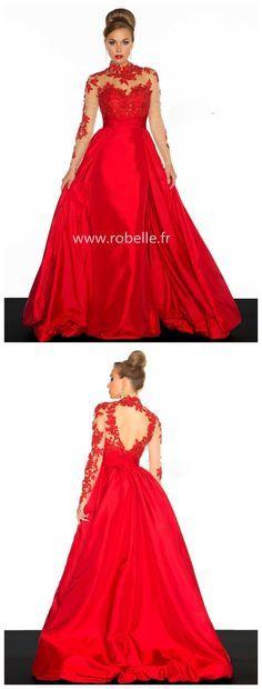 Satin Rouge Prom Dresses – fashion dresses