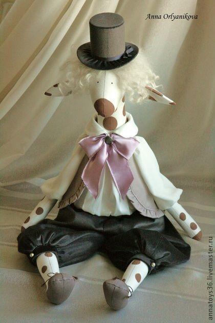 Toy animals, handmade.  Fair Masters - handmade Milord.  Handmade.