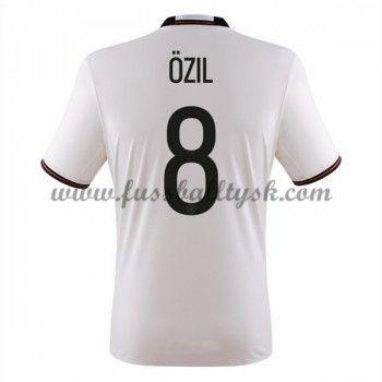 Günstige Fußballtrikots Deutschland Nationalmannschaft 2016 Ozil 8 Heimtrikot Kurzarm