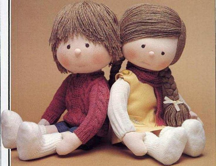 Buscando unas muñecas de trapo para hacerle a mi Hija me topé con unas muñecas maravillosas por donde se mire. Son de un Japonés llamado Ky...