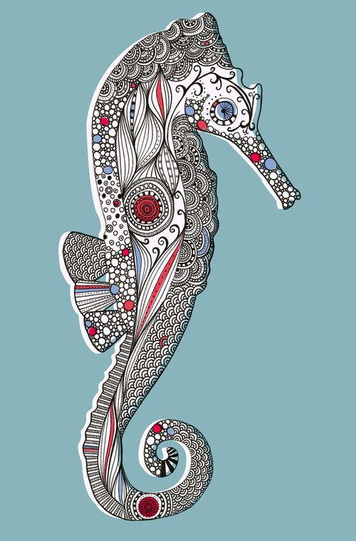 Imágenes: Creaturas Marinas de Rachel Wilson - Antidepresivo