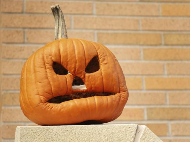 22 Traditional Pumpkin Carving Ideas : Home Improvement : DIY Network