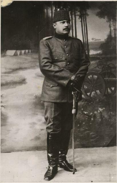 Turkish Soldier Gallipoli 57-nci Alay Komutanı Yarbay Hüseyin Avni Bey