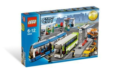 Lego 8404 City Bus und Tramstation » LegoShop24.de