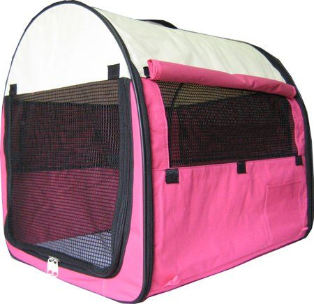 New 24 Pet Dog Pet Cat Carrier Travel Home Pink * Learn more by visiting the image link.