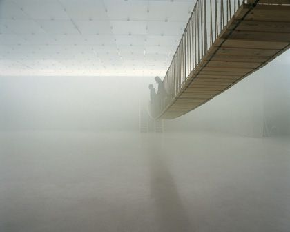 Olafur Eliasson in collaboration with Günter Vogt The mediated motion 2001 Kunsthaus Bregenz, Austria