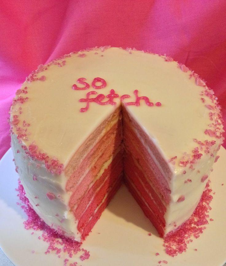Domestic Sluttery: That's So Fetch: A Mean Girls Birthday Cake
