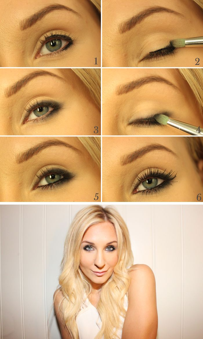 Simplest way for a sexy smokey look!