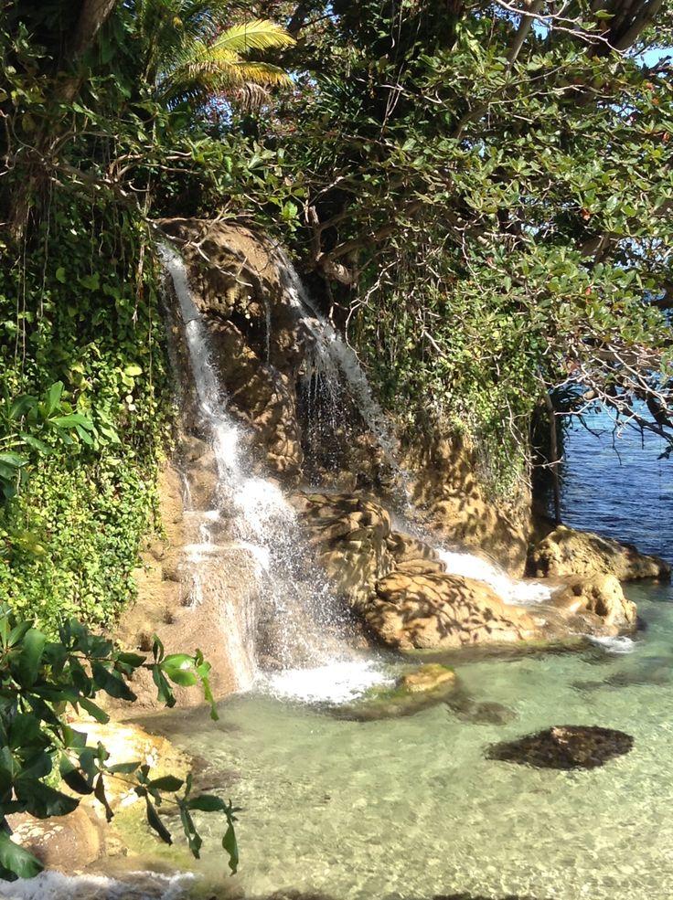 Paradise ; Little Dunns River Falls, Ocho Rios St. Ann Jamaica