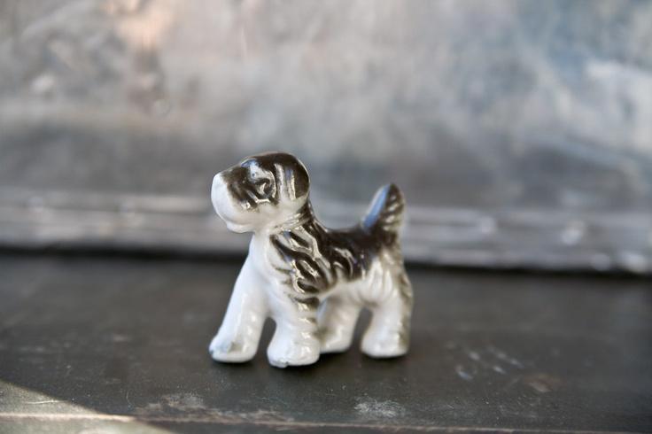 Vintage Dog Figurine / ReneeVintage