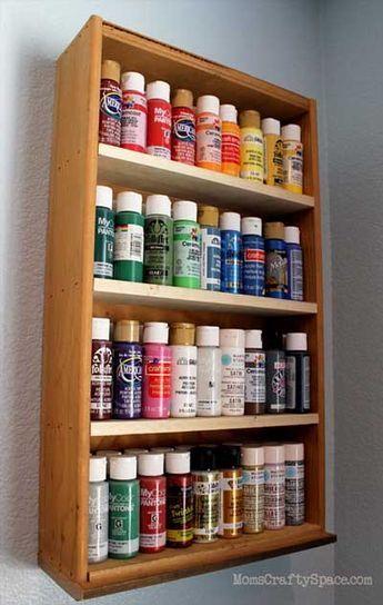 Cómo hacer estantes y estanterías con cajones viejos. | Mil Ideas de Decoración