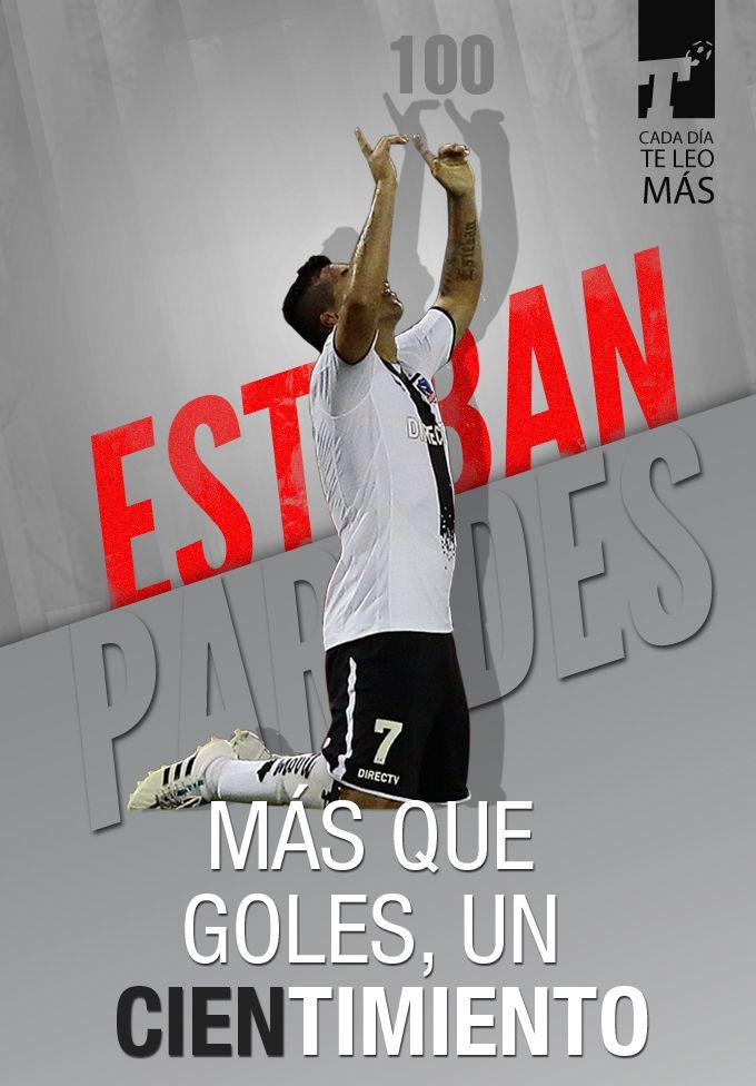 Esteban #Paredes llegó a su gol número 100 para #ColoColo! Más que goles, #UnCientimiento!  www.titular.cl