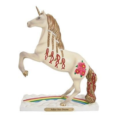 Trail of Painted Ponies Follow Your Dreams Unicorn Pony Horse Figurine