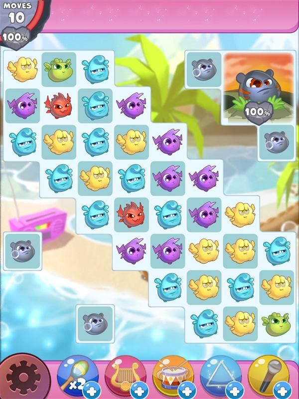 New challenges from update 8 // Puzzle mobilegame // Monsters