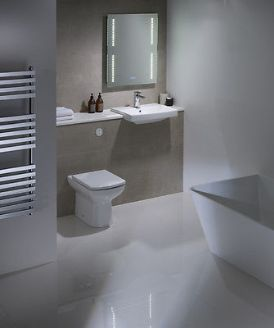 Tavistock Vibe Square Semi Recessed Furniture Basin