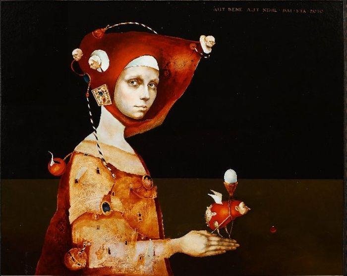 lithuanian symbolist painter daiva staskeviciene