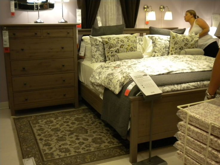 53 Cozy And Interesting Ikea Hemnes Bed Design Ideas Furniture Bedroom  Endearing Ikea Hemnes Bed With White Shade Silver Table Lamp On Wood  Dresser Also ...