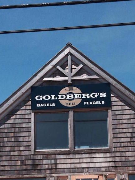 Goldberg's is one of our favorite bagel places.   East Hampton, NY