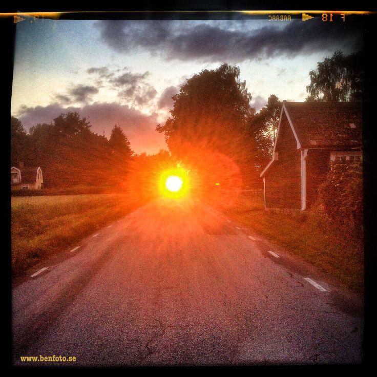 Elleholm sunset. #elleholm #sunset