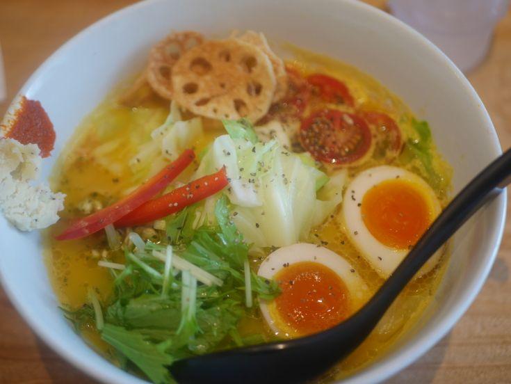 ソラノイロ 美味しく野菜が食べられるラーメン 健康にもいいし味も